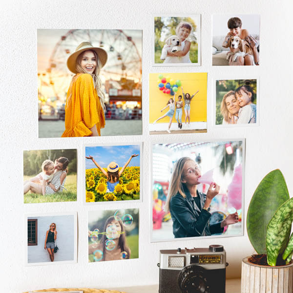 Stampa Foto Quadrate 10x10, 12x12 e 20x20 con o senza bordo