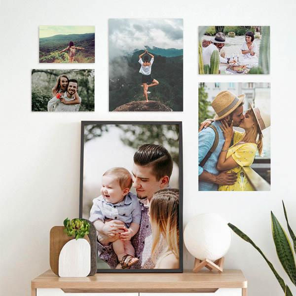 Stampa Ingrandimenti Foto 20x30, 30x45, 50x75 con astine o cornici